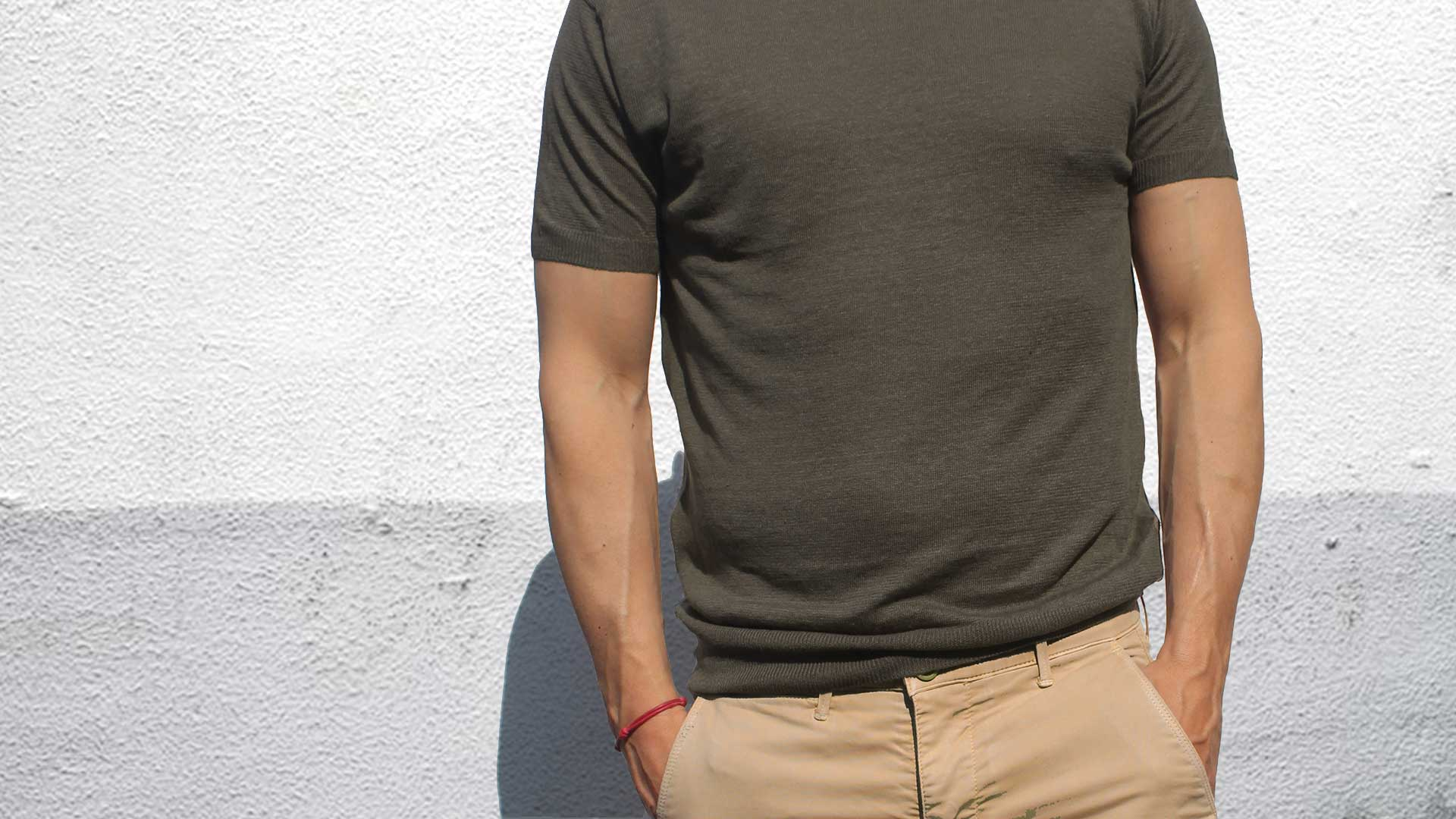 t-shirt-in-lino-uomo-army