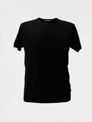 tshirt-girocollo-in-lino-black