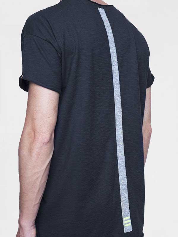 tshirt-jazzy-piombo-long-line-dietro