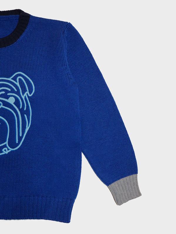 Bulldog bimbo blu dettaglio
