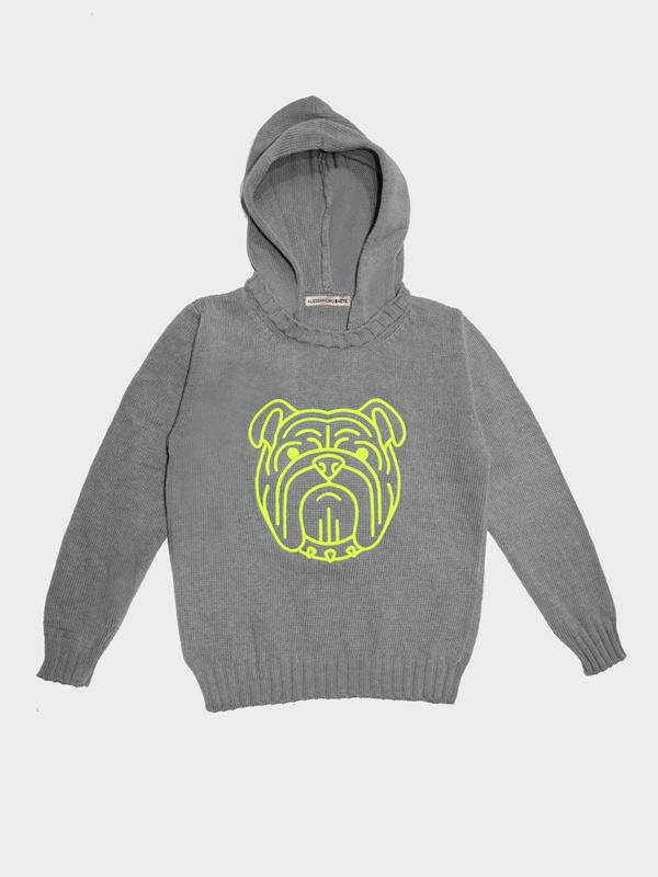 Bulldog bimbo hoodie