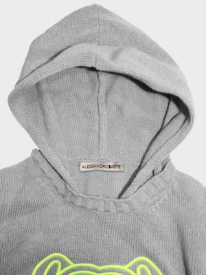 Bulldog bimbo hoodie dettaglio