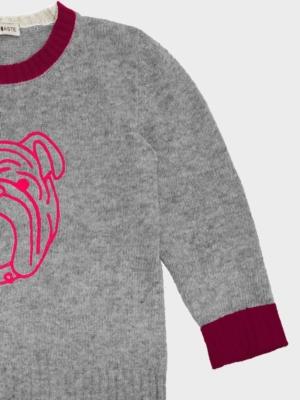 Bulldog bimbo rosa dettaglio