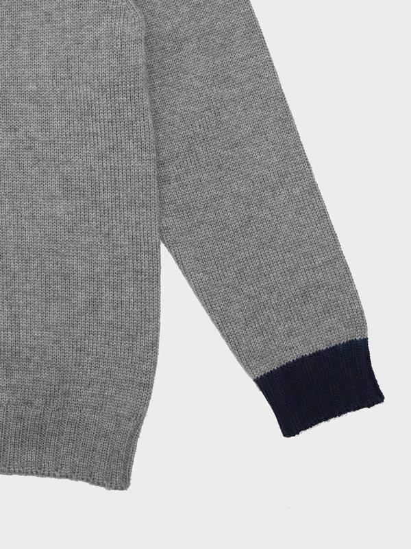 Baby charlie gray in cashwool dettaglio