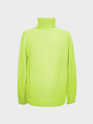 Eliot dolcevita in cashmere fluo