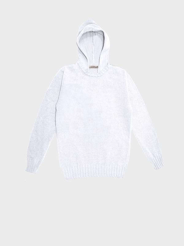 Hoodie-bianco