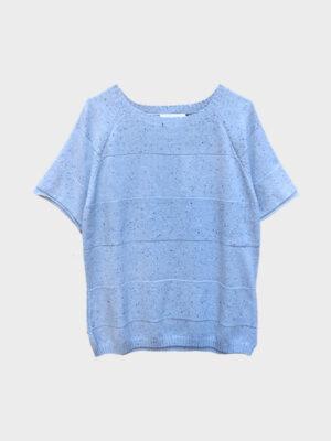 T-shirt puro cashmere mouline