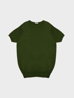 T-shirt scollo v military