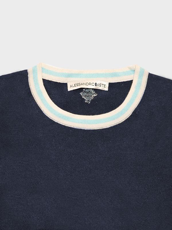 T-shirt elbert navy